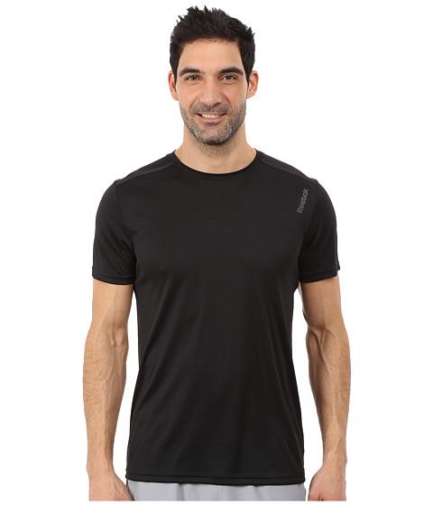 Reebok - Workout Ready Tech Top (Black) Men's Clothing