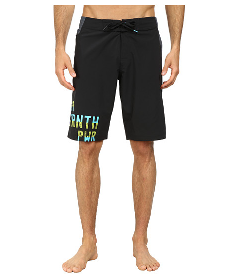 Reebok - Workout Ready Board Short (Black) Men's Swimwear
