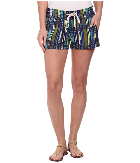 Roxy - Oceanside Yarn Dye Short (Astral Aura Sunset) Women's Shorts