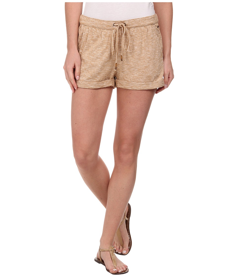 Roxy - Hazel Sea Short (Golden Brown Heather) Women's Shorts