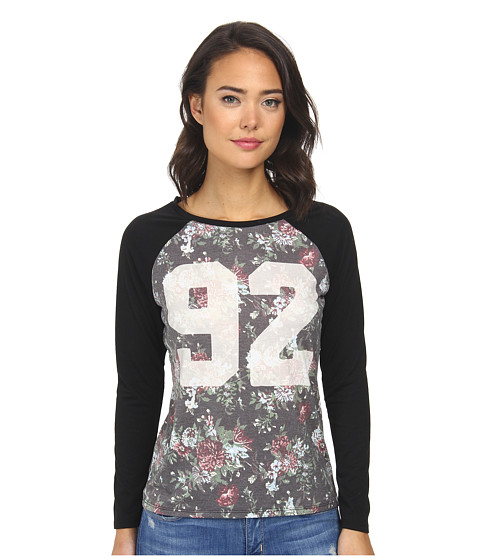 Element - Tegan L/S Pullover (Black) Women's Long Sleeve Pullover