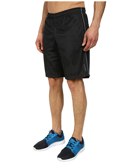 Reebok - Workout Ready Mesh Short (Black) Men