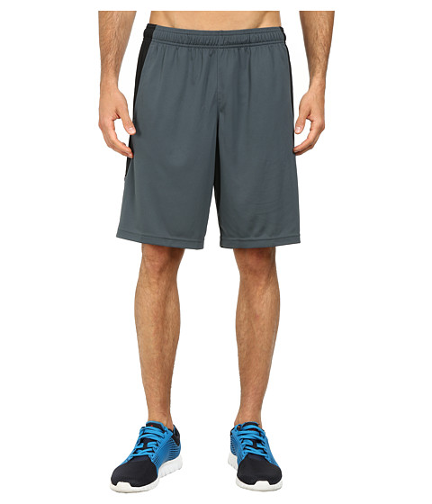 Reebok - Workout Ready Double Knit Short (Graphite) Men's Shorts
