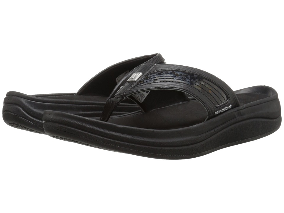 New Balance - Revive Thong (Black 1) Women's Sandals