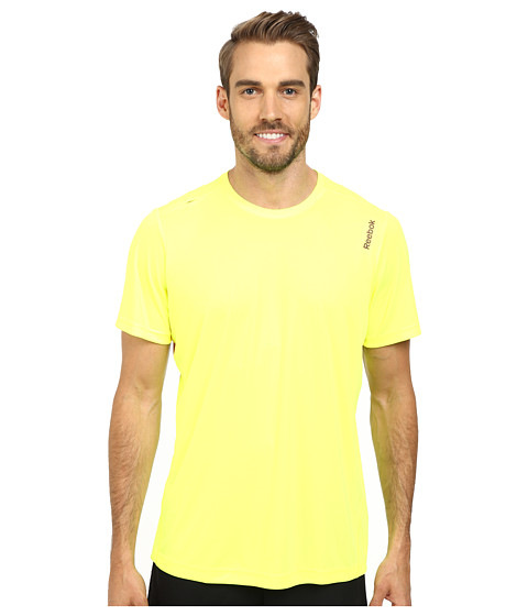 Reebok - Running Essentials S/S Tee (Solar Yellow) Men