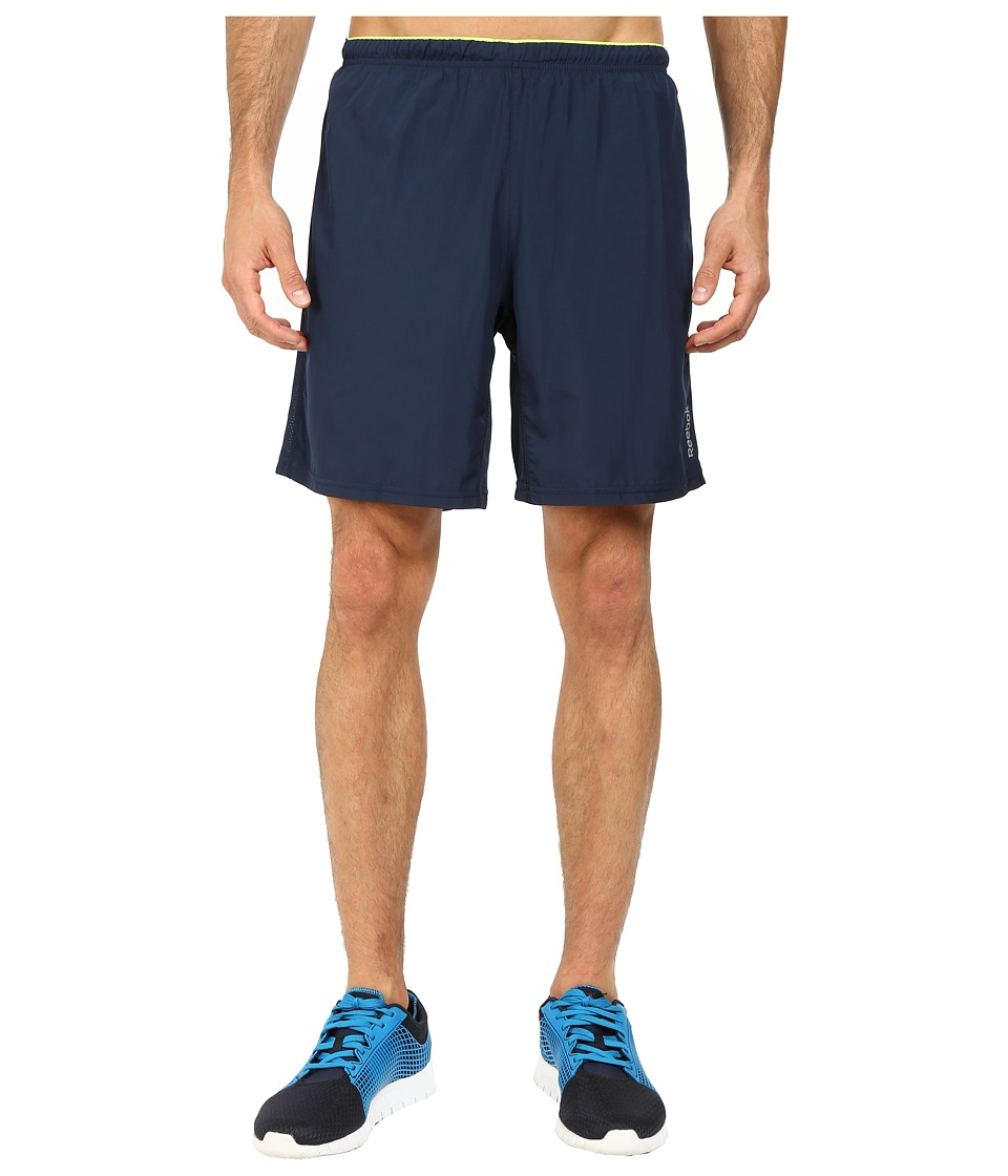 Reebok - Running Essentials 8-inch Short (Faux Indigo) Men
