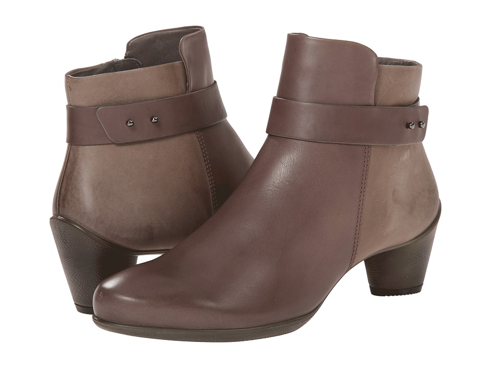 ECCO - Sculptured 45 Ankle Boot (Dark Clay/Dark Clay) Women's Boots