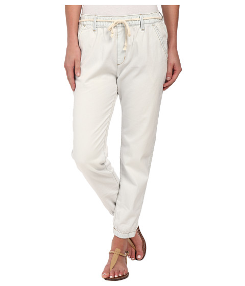 Roxy - Beachy Beach Denim Pant (Vintage Bleach) Women