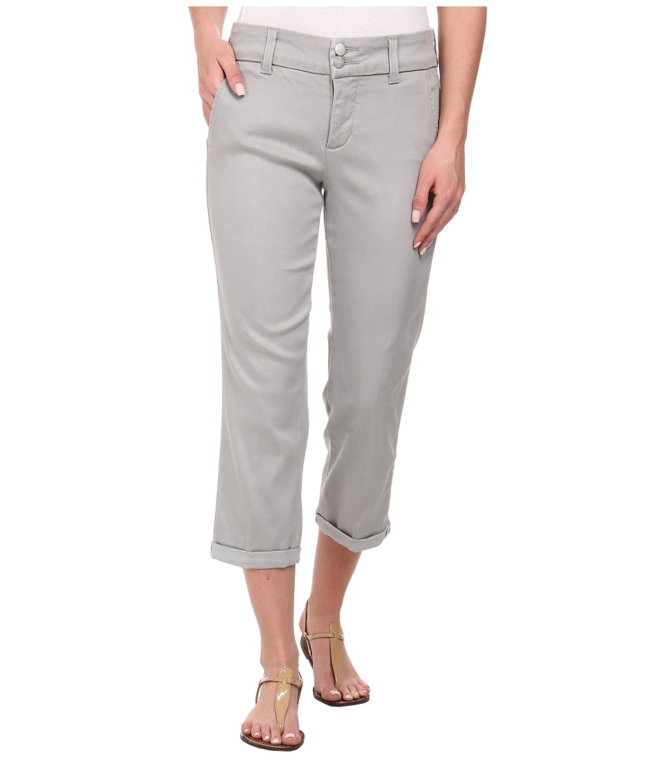 NYDJ - Izzie Crop Tencel Twill (Moonstone) Women's Casual Pants