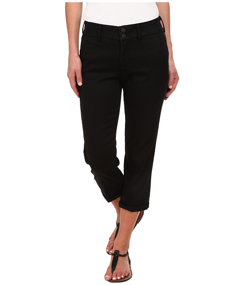 NYDJ - Izzie Crop Tencel Twill (Black) Women
