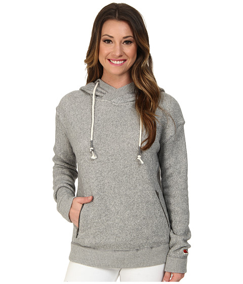 Roxy - Great Vibes Hoodie (Charcoal Heather) Women's Sweatshirt