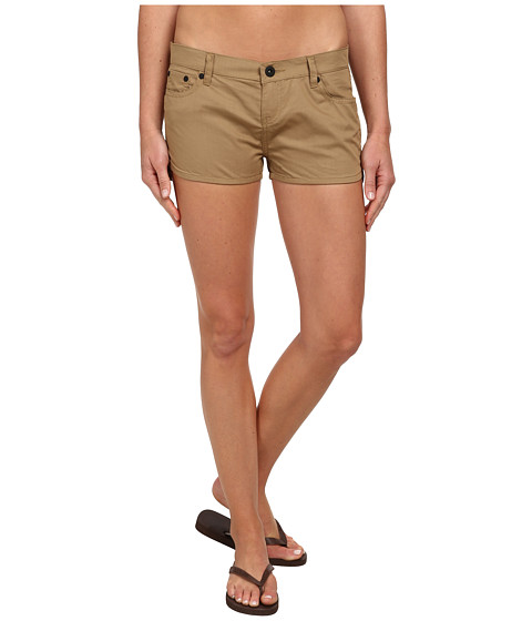 Hurley - Dri-Fit Beachrider 5 Pocket Short (Cardboard Khaki) Women