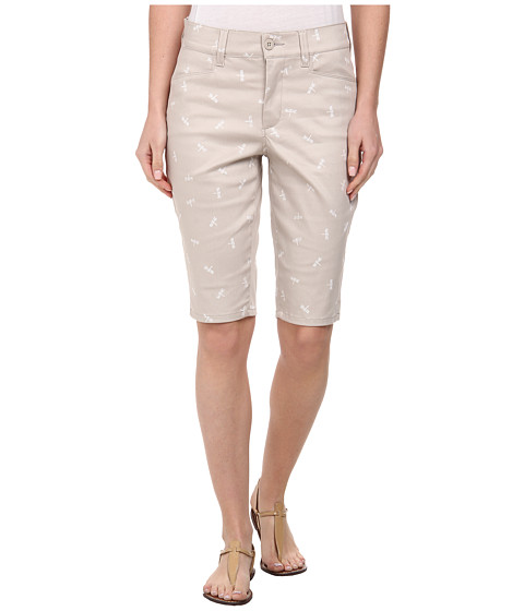 NYDJ - Christy Short - Dragon Flies (Stone) Women