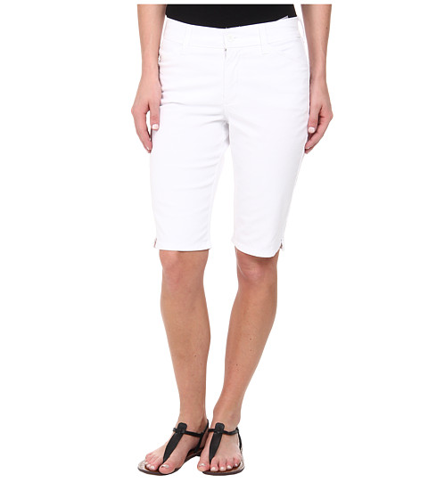 NYDJ - Christy Short (Optic White) Women