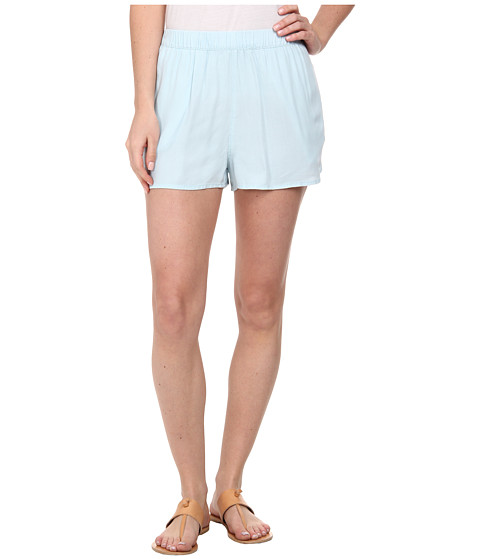 Hurley - Beachrider High Waisted Woven Short (Chambray 2) Women