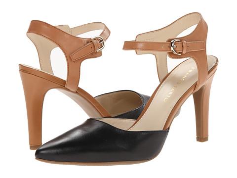 Franco Sarto - Aviva (Black Leather) High Heels