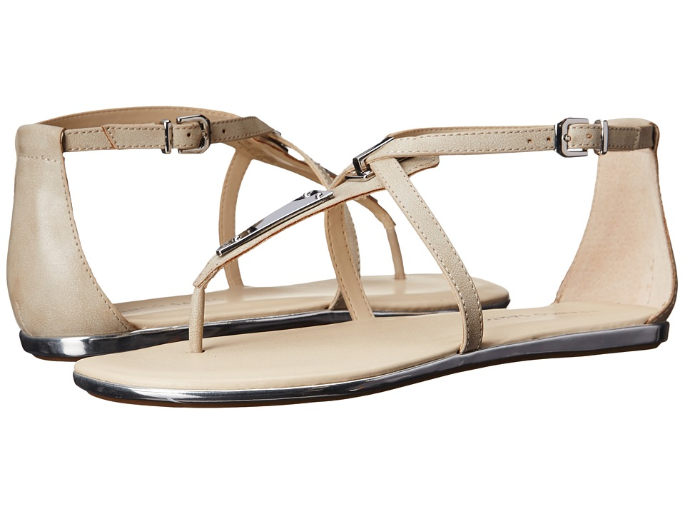 Franco Sarto - Aisha (Light Grey Synthetic) Women's Sandals