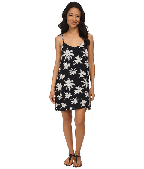 Hurley - Jolene Dress (Black Palm) Women's Dress