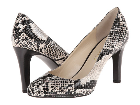 Franco Sarto - Caspian (Beige/Black Synthetic Snake Print) High Heels