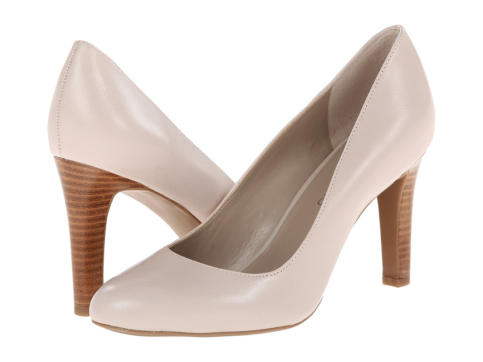 Franco Sarto Caspian (Ivory Nappa Leather) High Heels