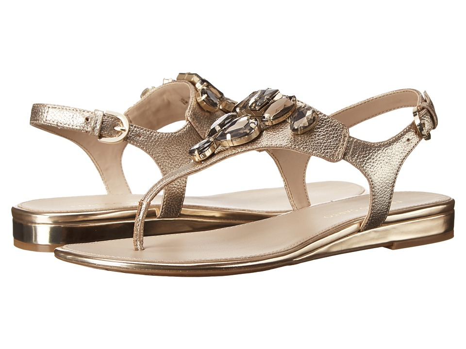 Franco Sarto - Galileo (Platino Metallic Synthetic) Women's Sandals