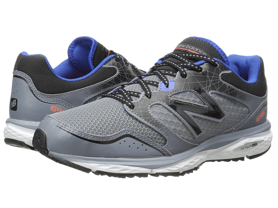New Balance - 695V2 (Grey/Blue) Men's Running Shoes
