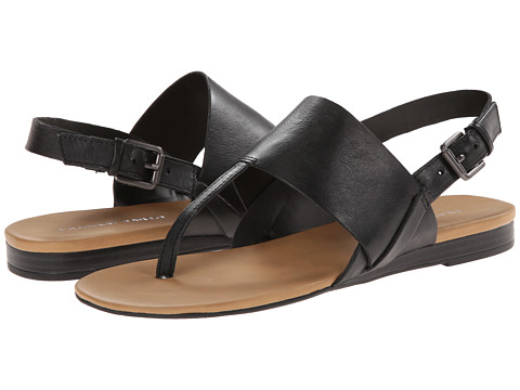 Franco Sarto - Gesso (Black Leather) Women's Sandals