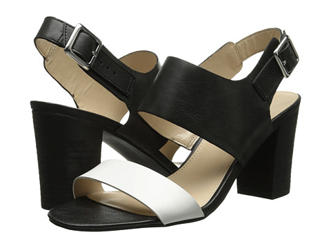 Franco Sarto - Gothic (Black/White Leather) High Heels