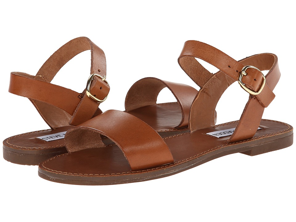 Steve Madden - Donddi (Tan Leather) Women's Sandals