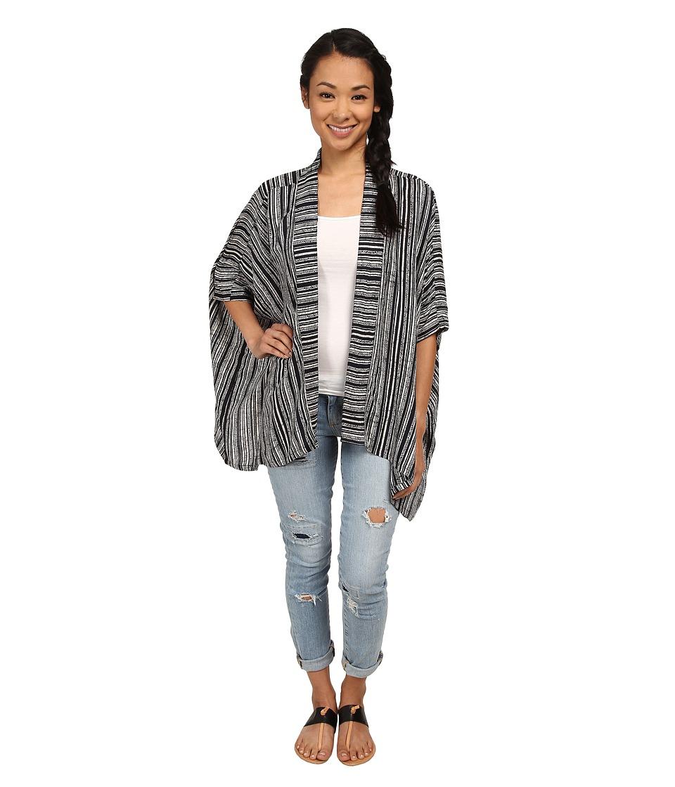 RVCA - Woo Would Kimono (Black) Women