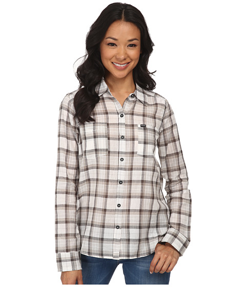 Hurley - Wilson L/S Button Up (White) Women