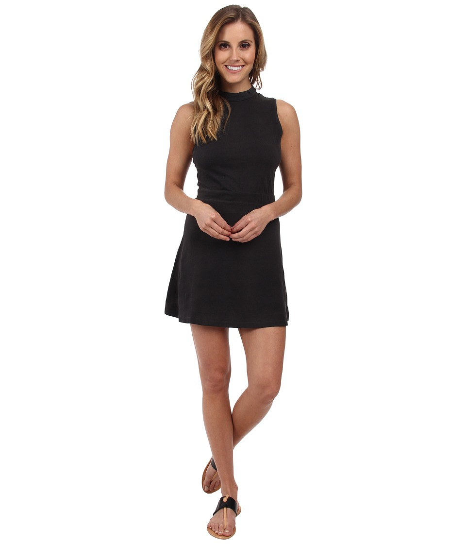 RVCA - Early Brunch Dress (Black) Women's Dress