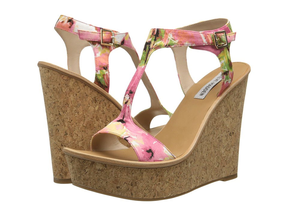 Steve Madden - Iluvit (Floral Multi) Women's Wedge Shoes