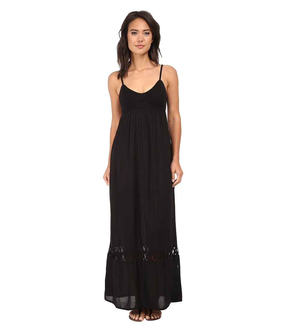 RVCA - Clever Girl Dress (Black) Women's Dress