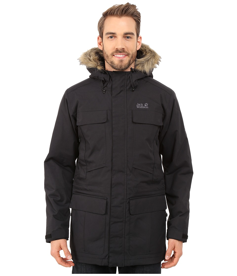 Jack Wolfskin - Halifax Parka (Black) Men