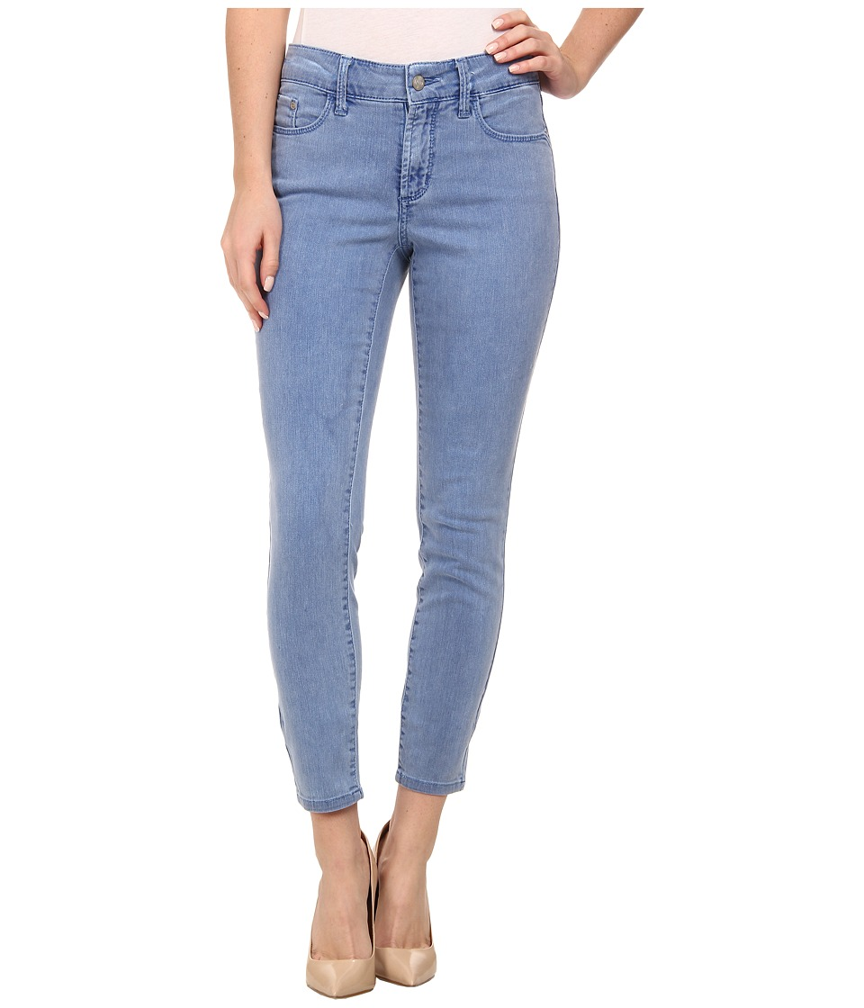 NYDJ - Angie Super Skinny Ankle Pigment (Monaco Blue) Women's Casual Pants