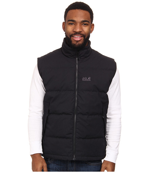 Jack Wolfskin - Lakota Vest (Black) Men