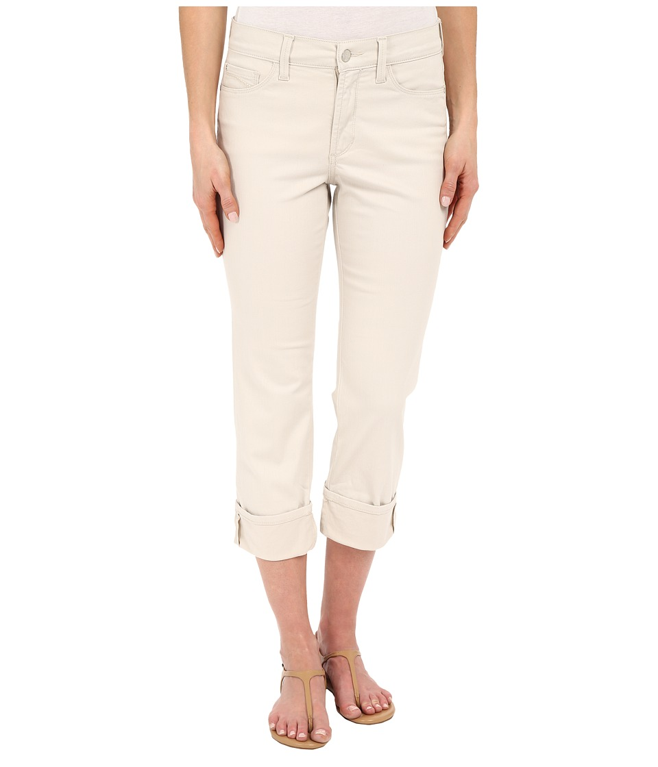 NYDJ - Dayla Wide Cuffed Capri (Clay) Women's Jeans
