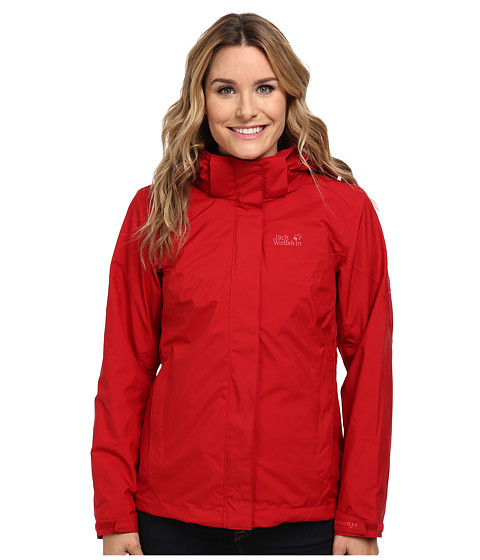 Jack Wolfskin - Fairfield (Indian Red) Women's Coat