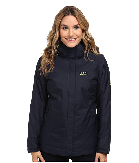 Jack Wolfskin - Arborg Jacket (Night Blue) Women