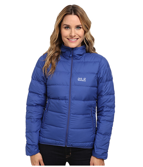 Jack Wolfskin - Helium Down Jacket (Blueberry) Women