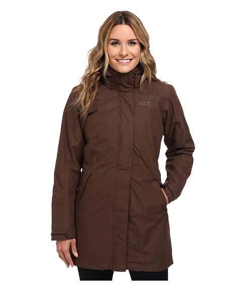 Jack Wolfskin - Ottawa Coat (Mocca) Women's Coat