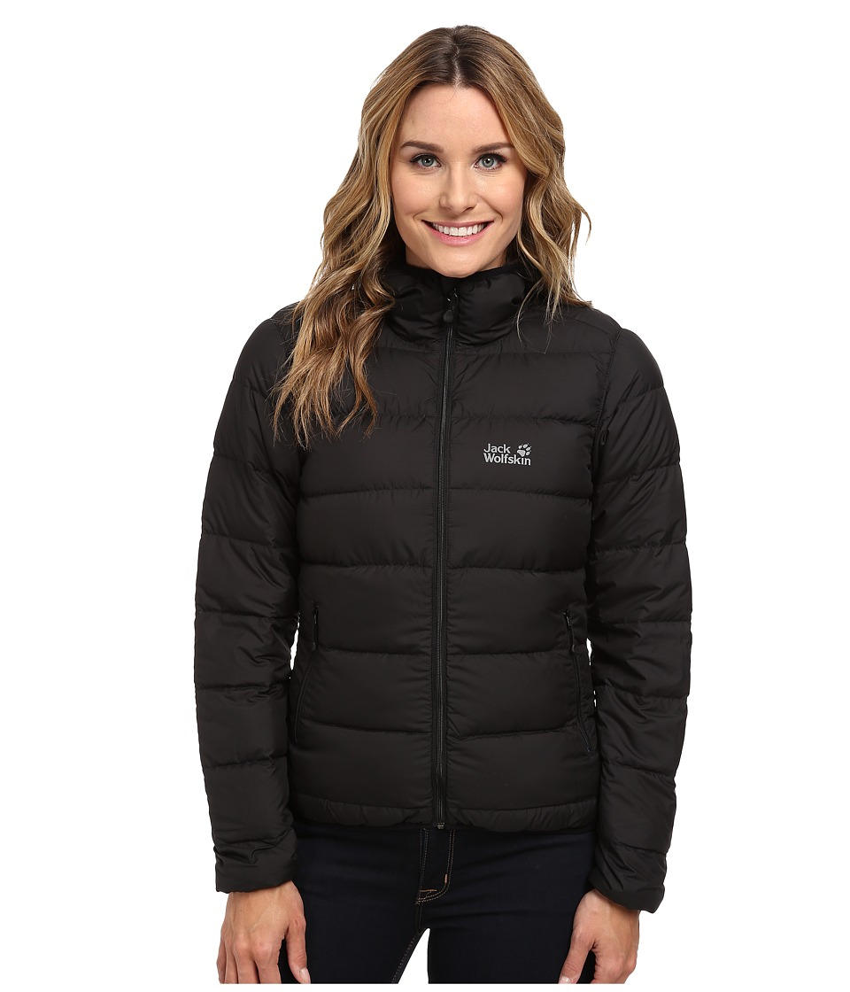 Jack Wolfskin - Helium Down Jacket (Black) Women's Coat
