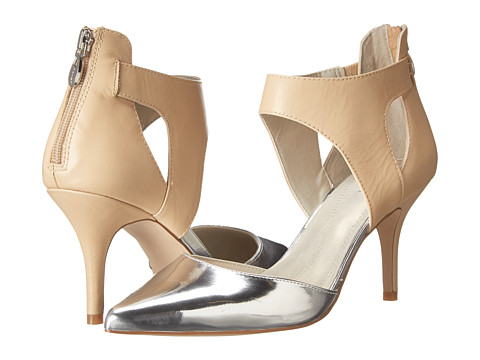Tahari - Corry (Biscuit/Silver Calf) High Heels