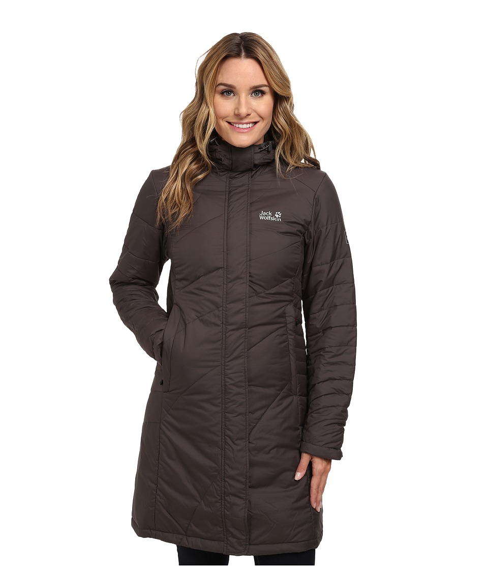Jack Wolfskin - Nova Iceguard Coat (Dark Steel) Women's Coat