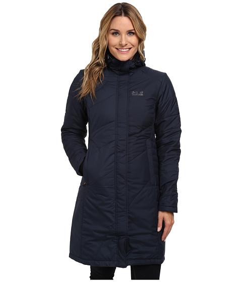Jack Wolfskin - Nova Iceguard Coat (Night Blue) Women's Coat