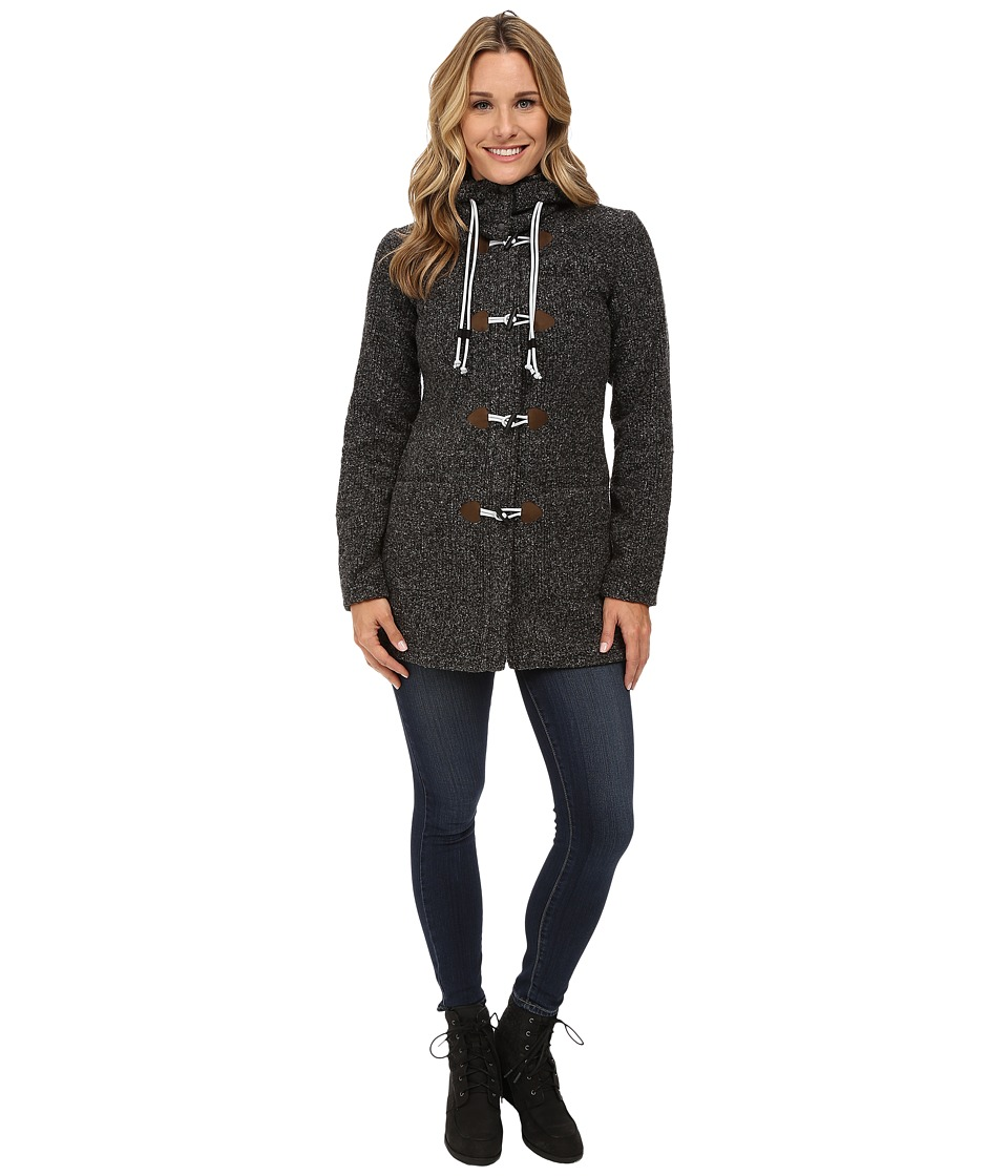 Jack Wolfskin - Milton Coat (Black) Women's Coat