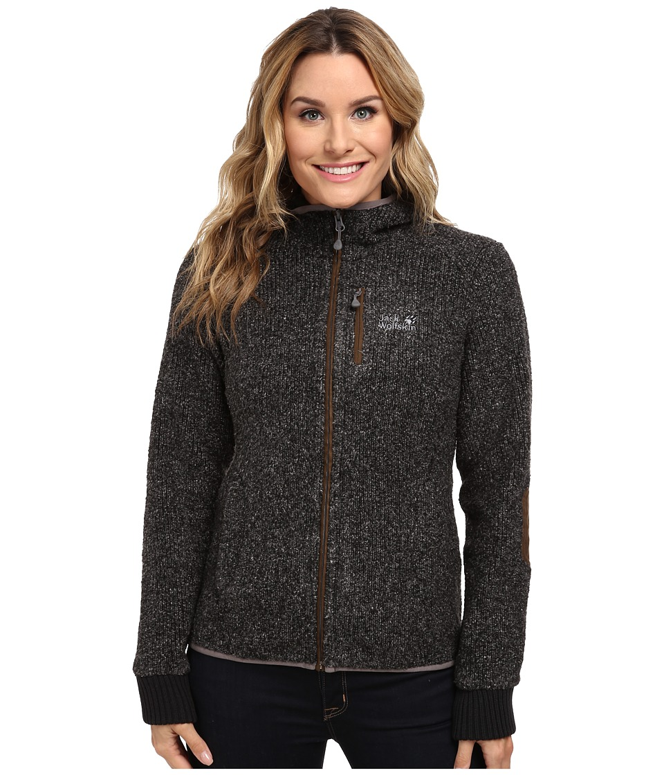 Jack Wolfskin - Milton Jacket (Black) Women's Coat