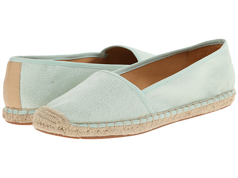 Franco Sarto - Whip (Mint Metallic Canvas) Women's Slip on Shoes