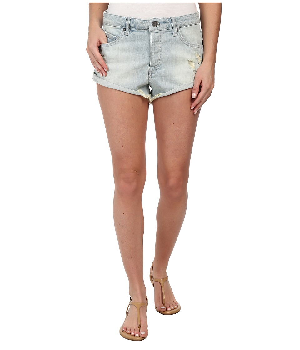 Volcom - Stoned Short Rolled (Blue Bird) Women
